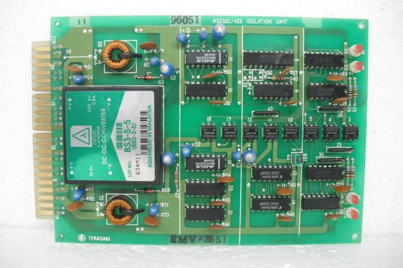Terasaki Emv-2651 Pc Board Rs232c/422 Isolation Unit