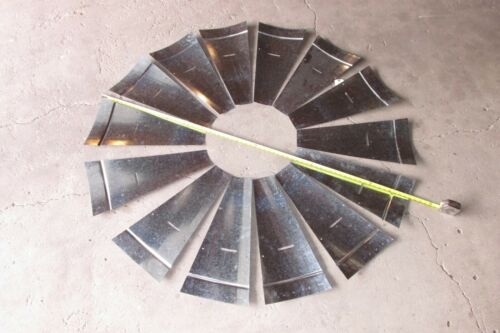 15  NEW FARM WINDMILL  BLADE FAN SECTION  DEMPSTER 6 FT  WALL ART CRAFT PROJECT