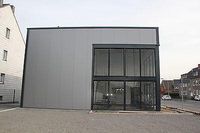 Stahlhalle 10,0m x 15,0m x 5,5m Flachdach