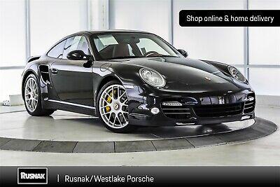 2012 Porsche 911 Turbo S 2012 Porsche 911 Turbo S 30342 Miles Black 2D Coupe 3.8L 6-Cylinder Turbocharged