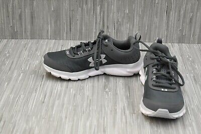 Under Armour Charged Assert 8 3021972-100 Athletic Shoes, Women's Size 8.5, Gray