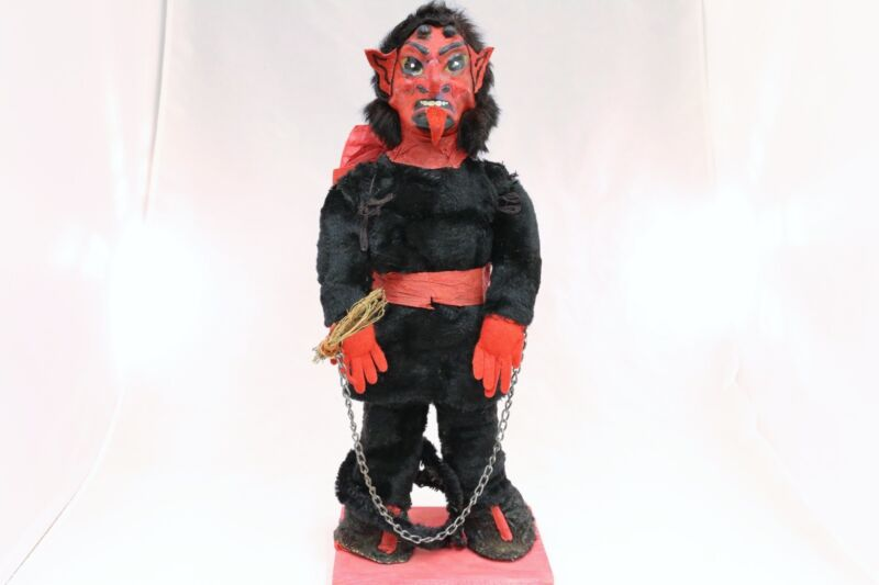 Krampus Made With Real Fur 1900