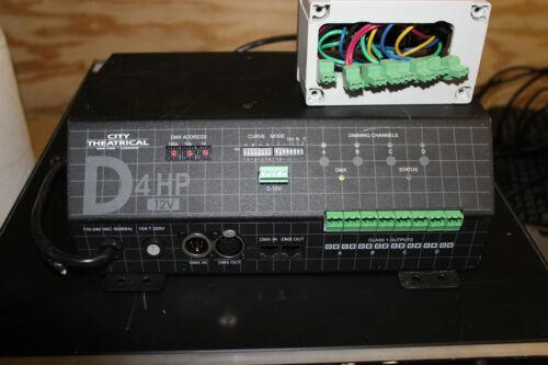 City Theatrical D4 HP Dimmer 12V Terminal Blocks