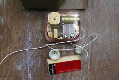 1 x Spieluhr Reuge mit Schnur Spielwerk Musikdose Memory A.L. Webber