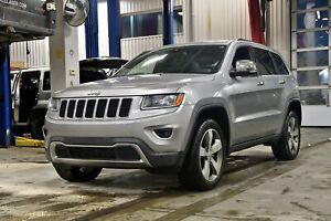 2015 Jeep Grand Cherokee LIMITED * HITCH * 8.4PO * GPS * ROUES 2