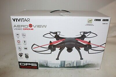 Vivitar Aeroview Quadcopter Video Drone App Control Through WiFi