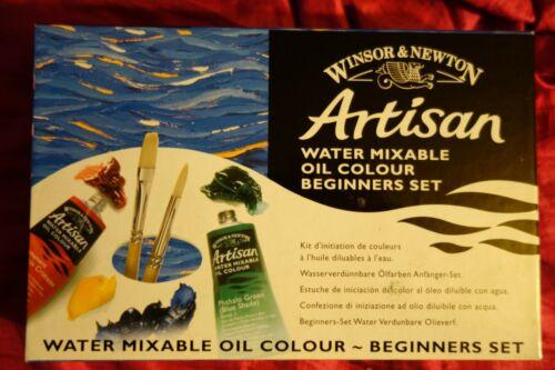 Winsor & Newton Artisan Water-mixable Oils Beginner Set