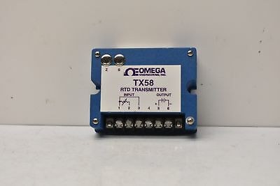 Omega Engineering Tx58-pt4 Rtd Transmitter