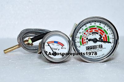 Fordson Dextasuper Dextaford Dexta Temperature Gauge And Tachometer