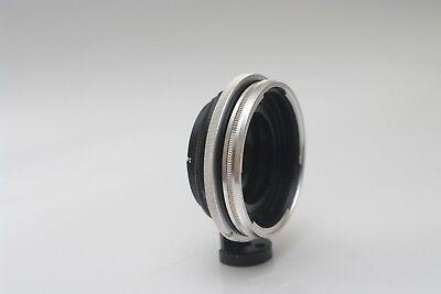 Kowa Kowa66 MF lens onto Nikon F mount camera adapter  shutter actuator built in