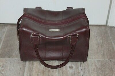 Vintage Samsonite Leather Travel Bag