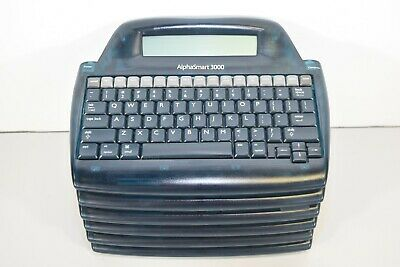 Alphasmart 3000 Portable Laptop Keyboard Word Processor - Lot Of 6