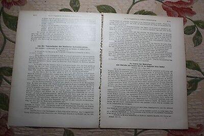 1931 Fachbericht Zeitschrift Bergbau / Stassfurt Kali 15 Seiten