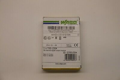 Brand New Factory Sealed Wago 750-1504 16-channel Digital Output