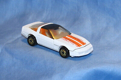 Hot Wheels 80's Corvette Turbo Trax Set 1/64 Chevy Hot Ones Blackwall NOS