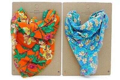0fc9f893875d Zara Girls 2 pañoletas para niñas accesorios complementos cabello bandana  Flores