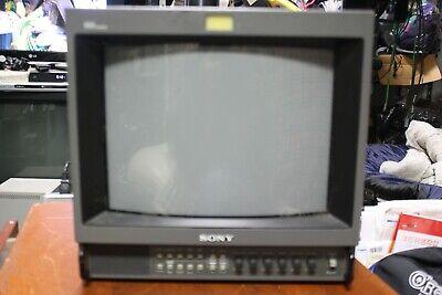 Sony Trinitron PVM-1345Q Color CRT Monitor PAL / NTSC RETRO GAMING VIDEO