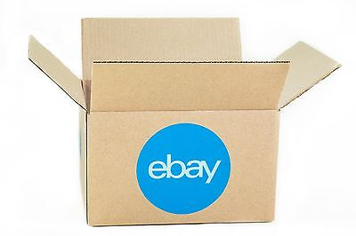 Ebay-branded Boxes With Blue 2-color Logo 10 X 8 X 6