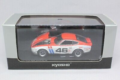9513 Kyosho 1/43 Nissan Datsun BRE 240Z Fairlady Z 46 Mint in Box With Tracking
