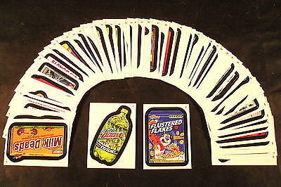 2013 Topps Wacky Packages ANS10 Series 10 COMPLETE BASE SET of 55 stickers nm+
