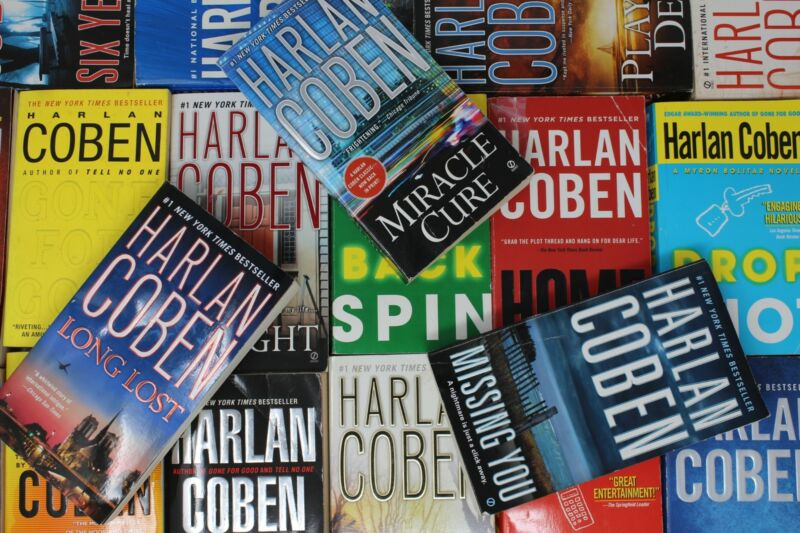 Lot of 10 Harlan Coben ThrillerMass Market Paperback Books MIX