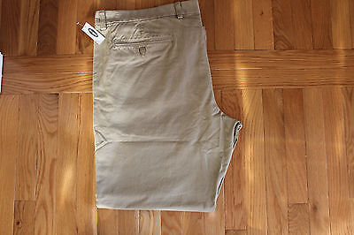 Old Navy Khaki Pants Mens Olx Straight Shore Enough Color Size 46X32 Zip Fly Nwt