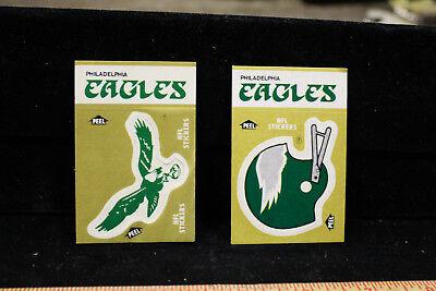 NFL Philadelphia Eagles  2 - 1982 & 1983 Schedule Fleer Stickers