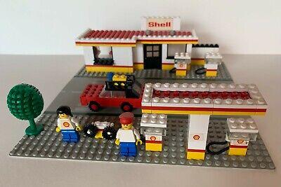 Lego Classic Town - Shell Service Station - Tankstelle - 70er 70s vintage