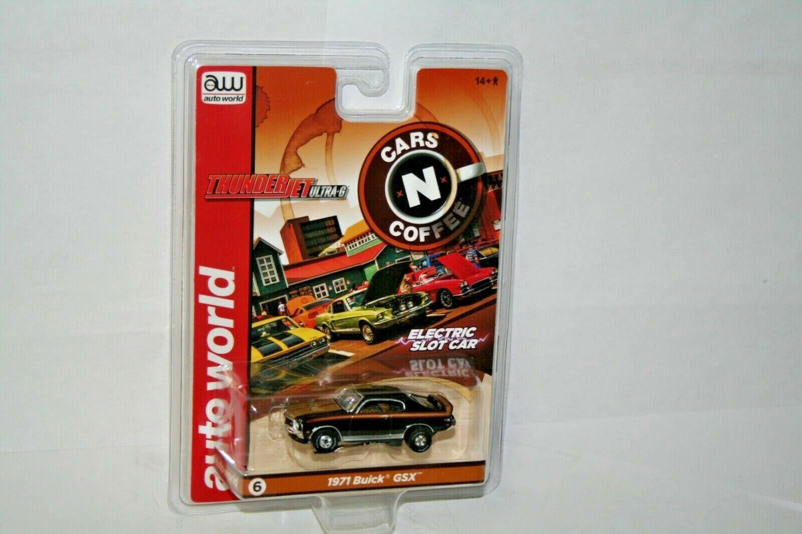 Auto World Rare AFX AURORA CARS N COFFEE 71 BUICK GSX HO SCA
