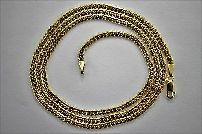 Authentic 14K Solid Yellow Gold MIAMI CUBAN LINK CHAIN 2.5mm-4mm/18