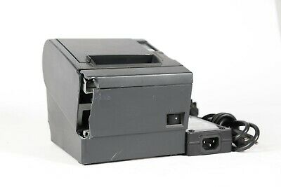 Epson Tm-t88iii Pos Point Of Sale Thermal Usb Receipt Printer M129c Wpower Adap