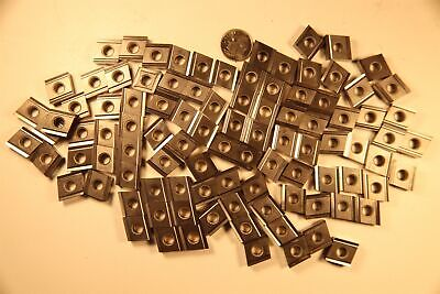 Lot Of 100 Kyocera Cngg432 Cermet 12insc. Diamond 80 X 100 Turning Inserts.
