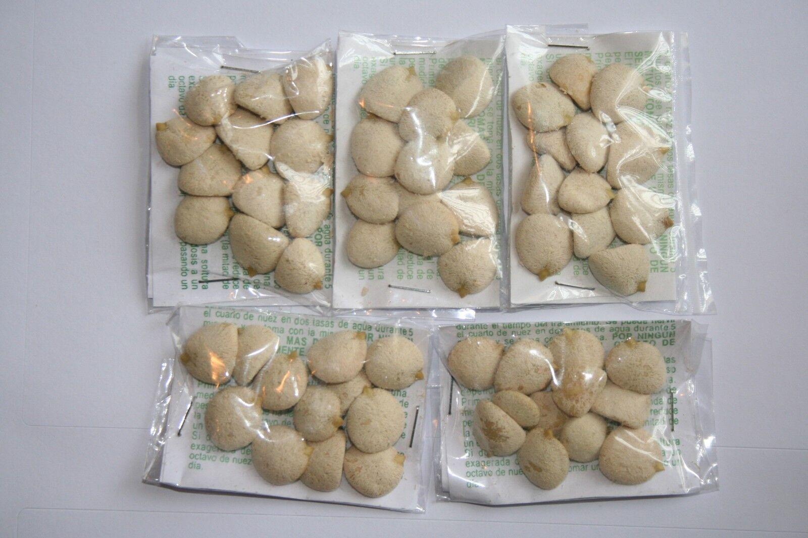 5 Packs Nuez de la India, 100% GARANTIZADA,OFERTA ESPECIAL,i