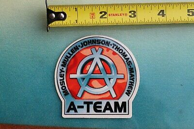 A-TEAM Skateboards Rodney Mullen Marc Johnson Z17 Vintage Skateboarding STICKER