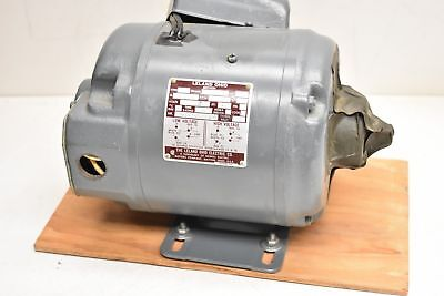 Leland Electric Thermomatic Motor Type Kl 2c56 1 Phase 14 Hp 1725 Rpm 115230v