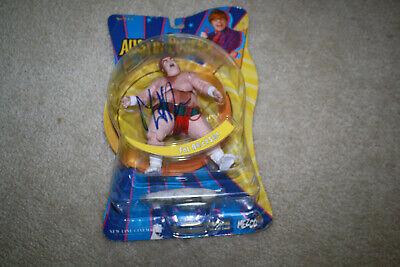 2002 Mezco Austin Powers Fat Bastard Figure w/Mike Myers Autograph - Y608 (Austin Powers Fat Bastard)