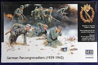 Master Box 3518: 1/35 German Infantry Panzergrenadiers 1939-1942 (7 Figures!)