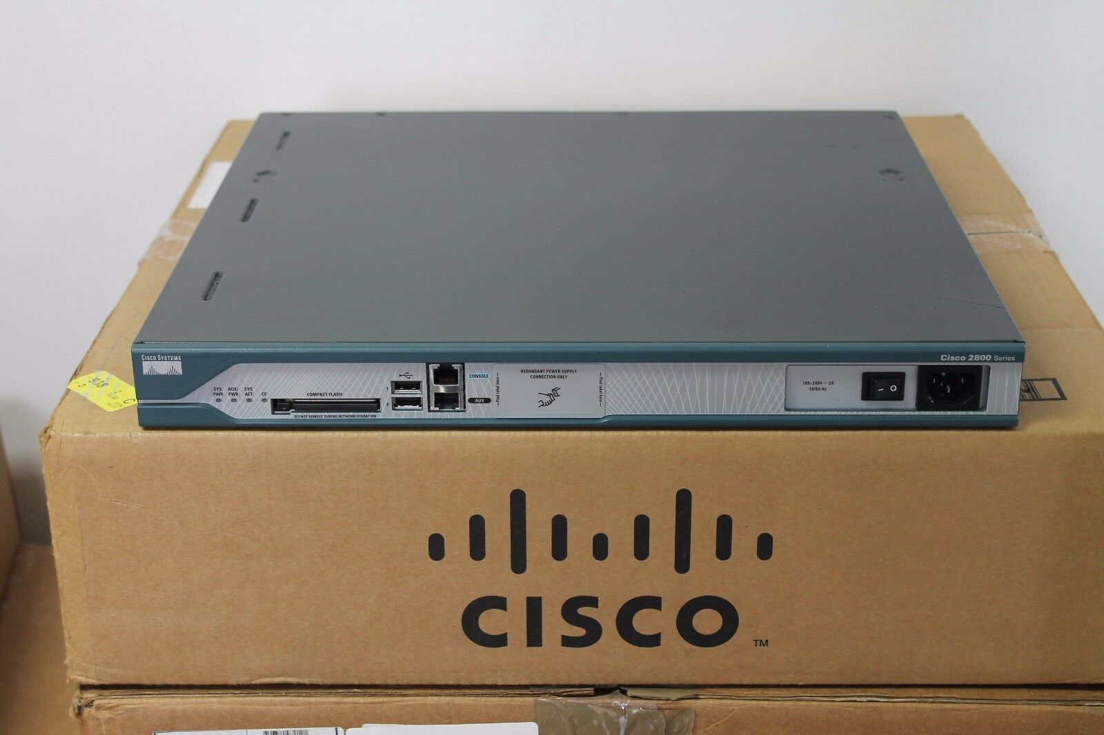 Cisco 2811 Router IOS 15 1(3)T CME 8 5 CCENT CCNA CCVP CCIE CCSP LAB  512D/256F | Shopping Bin - Search eBay faster