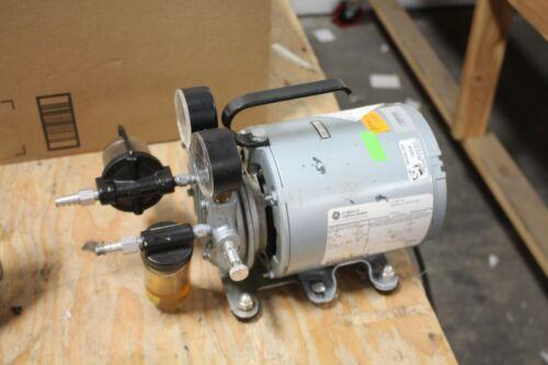 Ge Vacuum Pump 1/6 Hp G8gcx Lab Industrial