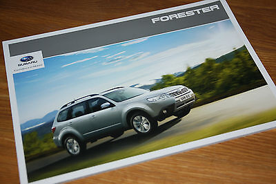 Subaru Forester Brochure 2011 - Mint