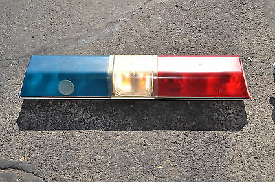 Police light bar code 3 inc force 4 lp 6000 police car vintage emergency light bar redwhite mozeypictures Choice Image