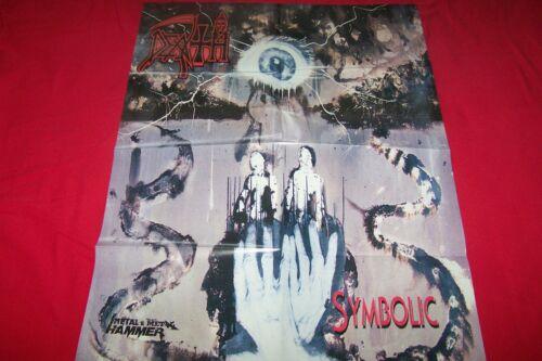 DEATH SYMBOLIC / MOTLEY CRUE 75X54 CM