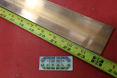14 X 2 C110 Copper Bar 24 Long Solid Flat Mill Bus Bar Stock H02