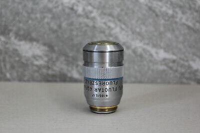 Leitz Wetzlar Microscope Objective 40 1.30 Npl Fluotar Fluoreszenz Rms