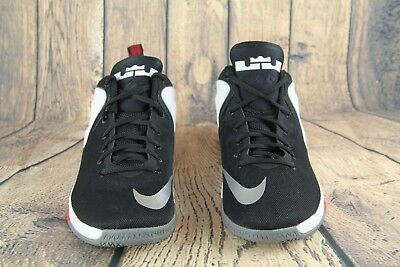 new style fe309 e780f Mens Nike Zoom Witness Lebron Sneakers New, Black White Red 852439-003 Size  12