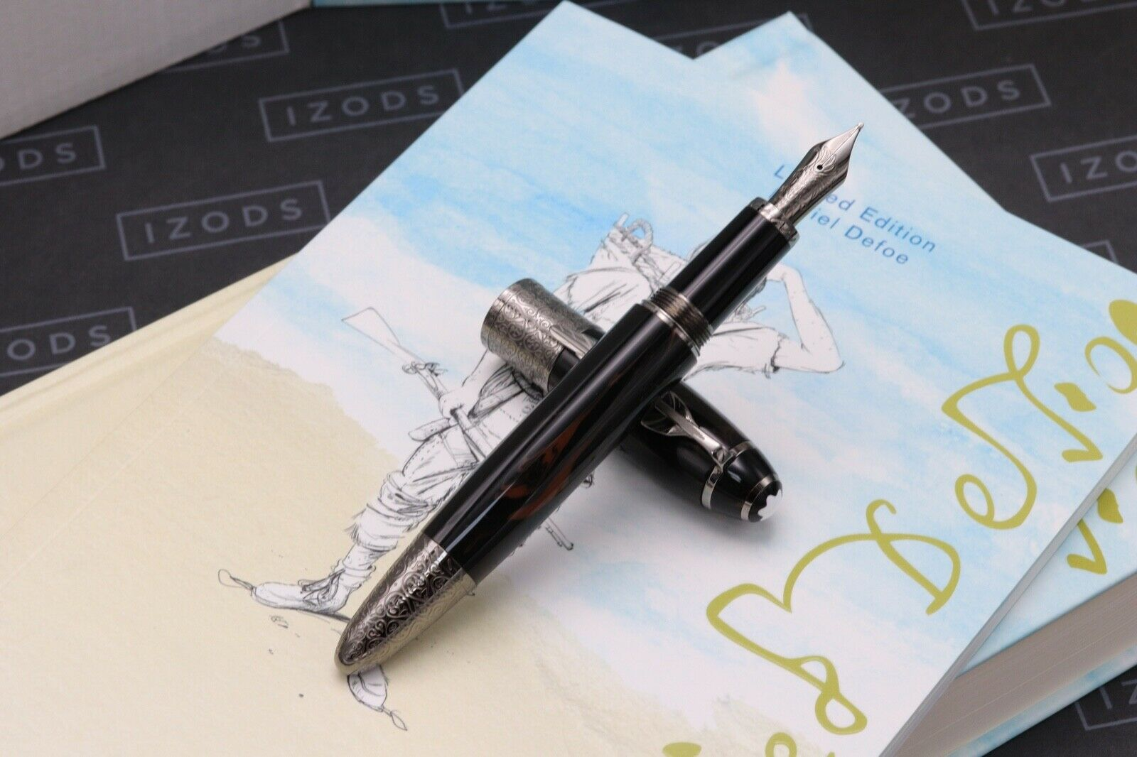 Montblanc Daniel Defoe Writers Limited Edition Fountain Pen - DIPPED 1