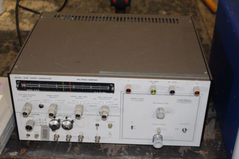 WILTRON 610D SWEEP GENERATOR HP