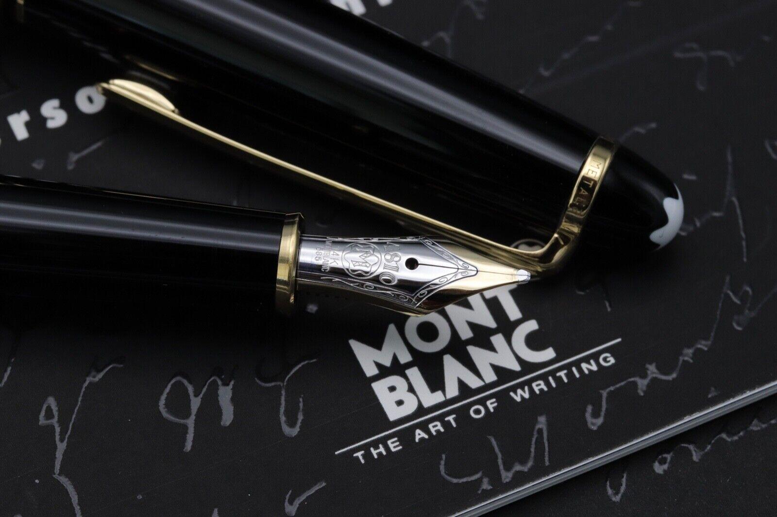 Montblanc Meisterstuck 144 Classique 'Wedding Pen' Fountain Pen 2