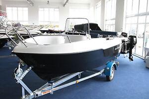 motorboot mit 15 ps ebay. Black Bedroom Furniture Sets. Home Design Ideas