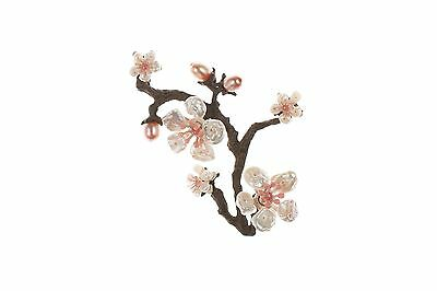 Cherry Blossom Pin Brooch by Michael Michaud for Silver Seasons #5791